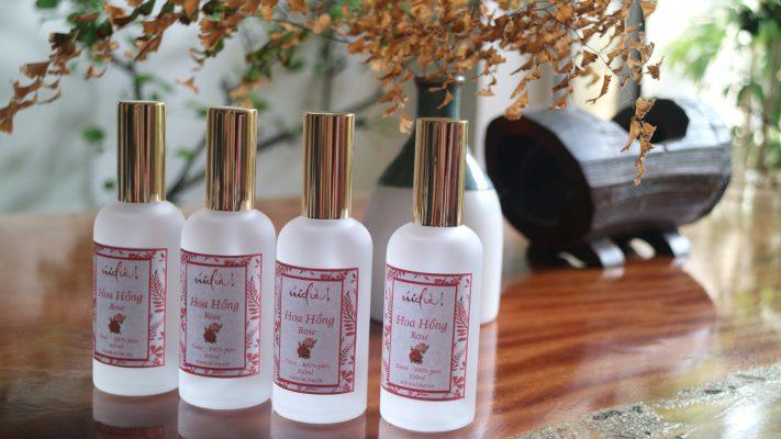 Nước hoa hồng xịt khoáng toner nguyên chất