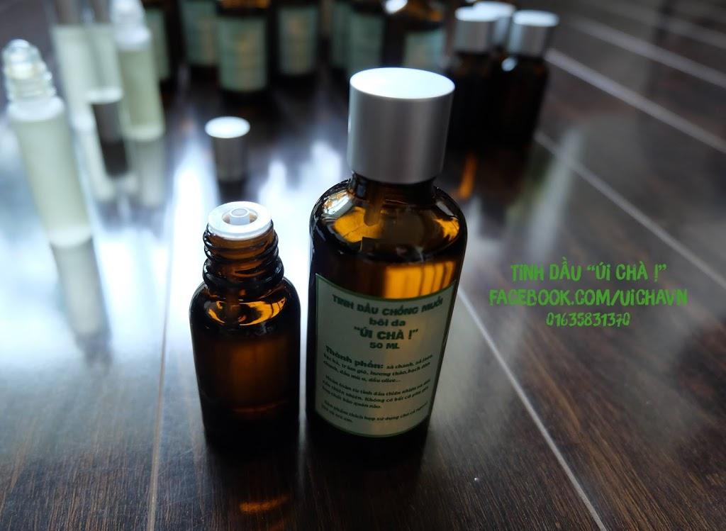 Tinh dầu chống muỗi bôi da